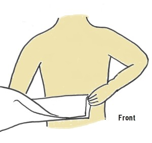 how to bind your chest 1