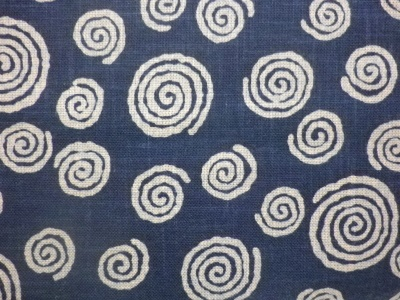 1111NJ Like Indigo NARUTO Japanese pattern fabric sell by the roll