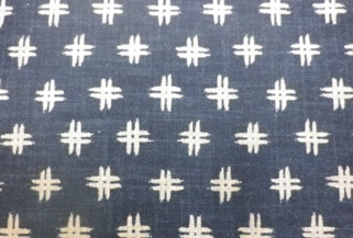 1120NJ Like Indigo IGETA pattern Japan fabric sell by the roll
