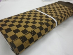 1123NJ Like Indigo CHECKER pattern wholesale fabric Japan