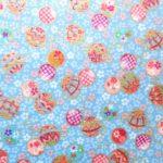 HJ2021 Japanese TEMARI ball pattern Cotton 100% Fabric