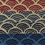1127BR-1 Seigaiha pattern japan traditional cotton wholesale 36M (Sevenberry)