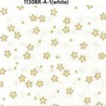 1130BR-A Sakura Cherry blossom flower pattern Japan fabric 38M(Sevenberry)