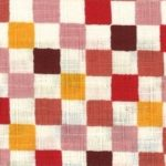 1138BR-C Colorful checker Japan pattern wholesale fabric 36M (Sevenberry)