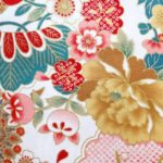 HJ2027 Japanese flowers design pattern 36M wholesale