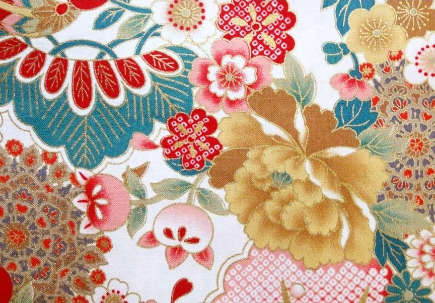HJ2027 Japanese flowers design pattern 36M wholesale