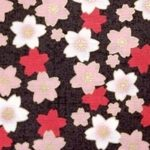 HJ2036 SAKURA Cherry blossom Japanese pattern fabric wholesale
