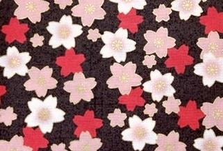 HJ2036 SAKURA Cherry blossom Japanese pattern fabric wholesale