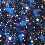 HJ2039 cosmos universe stars Japan fabric cotton wholesale