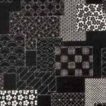 1104NJ Printed SASHIKO Japanese pattern Fabric5M sell by the roll