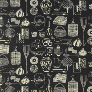 1105NJ Japanese tools printed Fabric sell by the roll 5M(Olympus)
