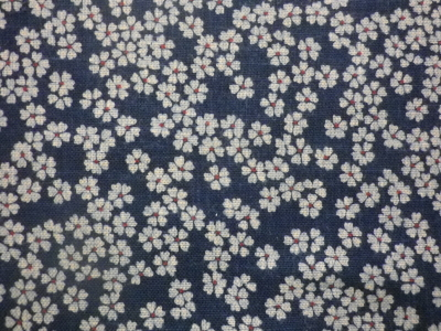 1108NJ Like Indigo SAKURA cotton japanese fabric 11M