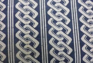 1117NJ  KUSABI(wedge) pattern wholesale fabric japan 11M