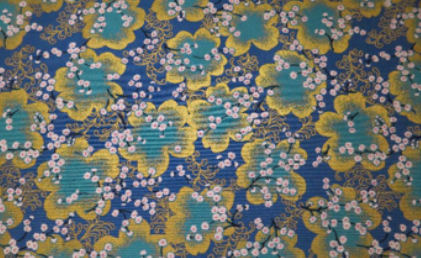 HJ2018 Japanese pattern Flowers Cotton 100% fabric sell by the roll