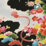 No.1039 CHIRIMEN Crape japanese fabric 12M