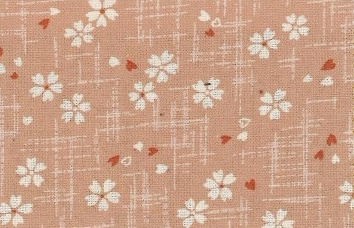1126BR-1-B Sakura pattern Japan fabric cotton wholesale(Sevenberry)