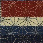 1127BR-2 Asanoha pattern japan traditional cotton wholesale 36M (Sevenberry)