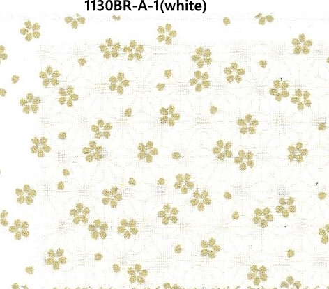 1130BR-A Sakura Cherry blossom flower pattern Japan fabric 38M(Sevenberry)