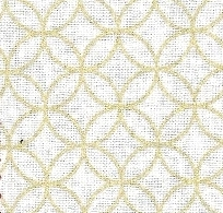 1130BR-C Gold Shippo pattern Japan cotton fabric wholesale 38M(Sevenberry)
