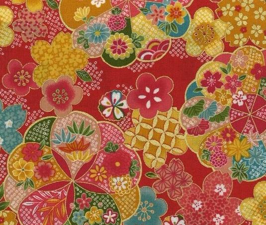 1133BR-C Origami decorative paper gold cotton fabric wholesale(Sevenberry)