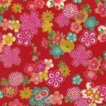 1135BR-A Sakura japan floral pattern colorful wholesale fabric (Sevenberry)