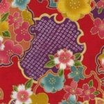 1135BR-B YUKIWA japan pattern colorful 36M fabric wholesale(Sevenberry)