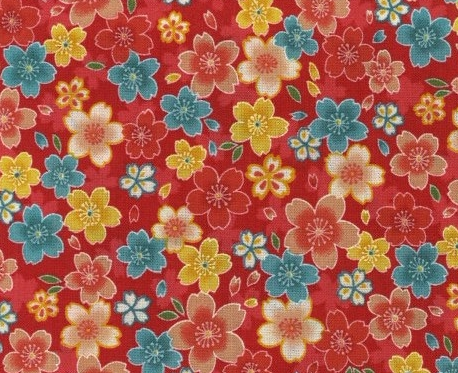 1136BR-A Sakura! Sakura! Sakura! japanese pattern wholesale fabric  (Sevenberry)