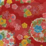 1137BR-A Yukiwa snow Japanese pattern gorgeous fabric 36M (Sevenberry)