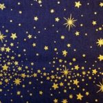 HJ2038 COSMOS space universe stars wholesale fabric 36M