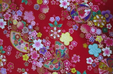 HJ2046 Like Japanese decorative paper cotton fabric colorful