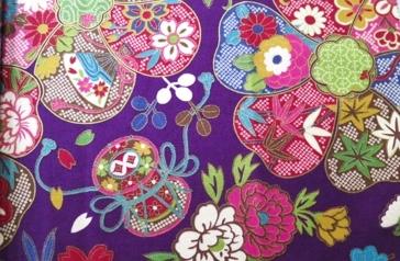 HJ2051 Like Kanoko shibori printed cotton fabric traditional Japan