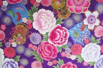 HJ2053 Nostalgic floral Japanese style pattern fabric cotton wholesale