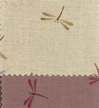 1131BR-C Dragon fly insects Japan fabric (Sevenberry)38M,10M