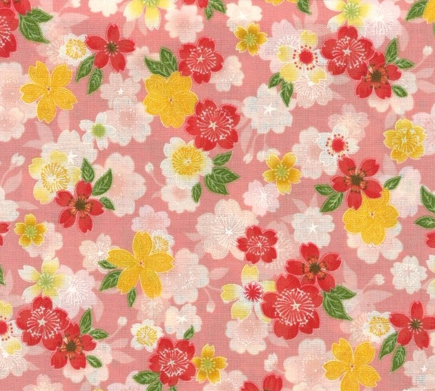 850275 -1 Cherry blossom Flower  Japanese pattern (Sevenberry)10,36M