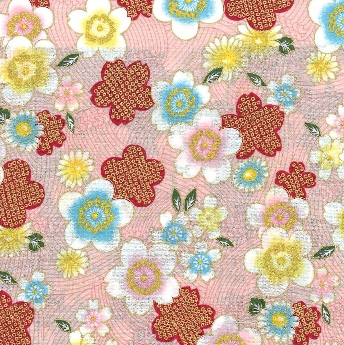 850288-2 Cherry blossom Japan fabric (Sevenberry)36M