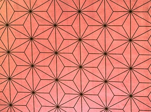 HJ2079 ASANOHA traditional & modern pattern colorful Japan fabric