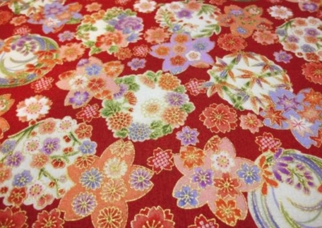 HJ2081 Flower gorgeous & pretty Japan fabric wholesale