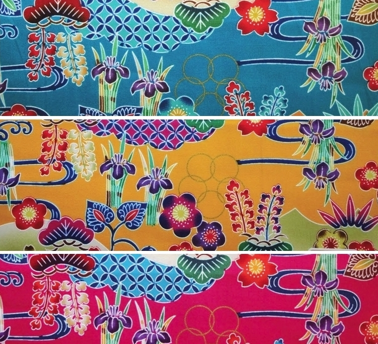HJ2089 Beautiful BINGATA style printed japan cotton fabric