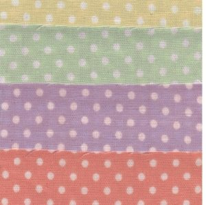 HJ2090 Polka dots gauze  japan cotton fabric wholesale 9 colors