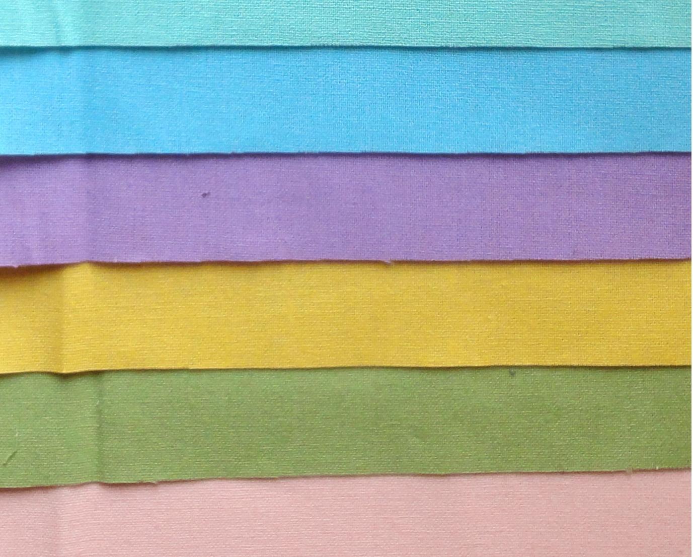 HJ2095 Plain Japanese Cotton fabric 9 Colors