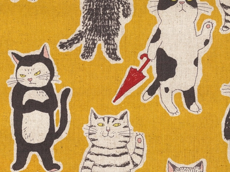 KC5001 CAT Cotton 80+Line 20 Japan Canvas sell by the roll