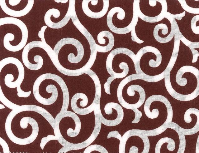 88227-D1 Small Karakusa pattern fabric Japan (Sevenberry 36M)