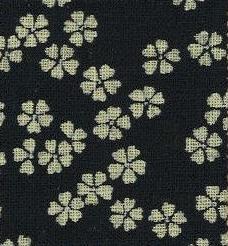 88223-D1 Like Indigo navy Cherry blossom fabric Japan (Sevenberry 13M, 53M)