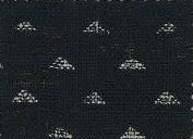 88223-D19 Like Indigo triangle pattern fabric Japan (Sevenberry 13M, 53M)