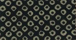 88223-D25 Like Indigo Kanoko Shibori pattern fabric Japan (Sevenberry 13M, 53M)