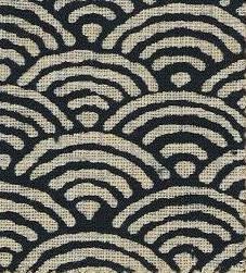 88223-D4 Like Indigo SEIGAIHA fabric Japan (Sevenberry 13M, 53M)