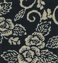 88223-D6 Like Indigo PEONY KARAKUSA fabric Japan (Sevenberry 13M, 53M)