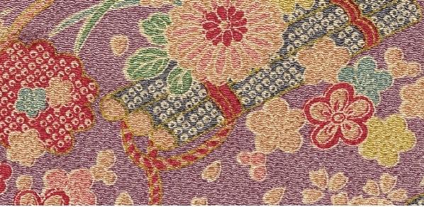 CR1056 CHIRIMEN CREPE like kimono Japan fabric wholesale 12M
