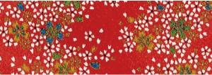 CR1060 CHIRIMEN CREPE Like origami paper Japan fabric 12M