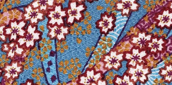CR1062  CHIRIMEN CREPE Like origami paper Japan fabric wholesale 12M